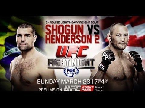 UFC Fight Night 38 Shogun vs H...