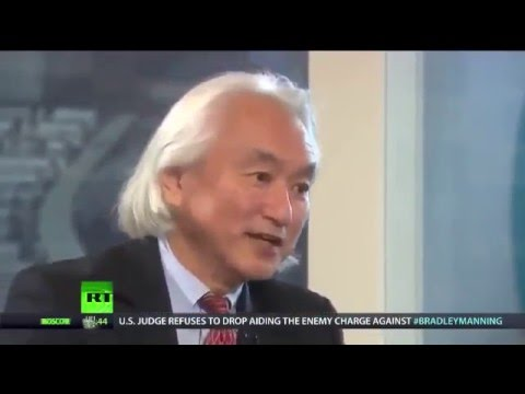 Scientist Michio Kaku schools a russian tv journo on Democracy - she looks lost