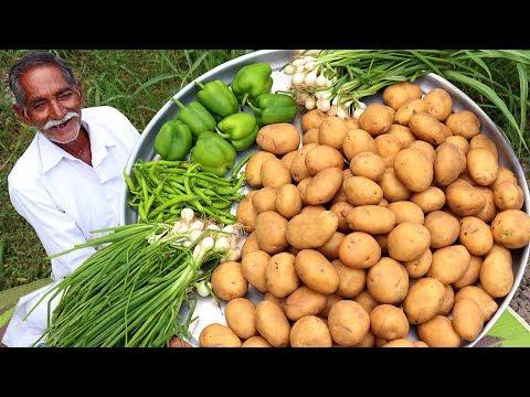 Chilli Potatoes Recipe   Honey Chilli Potato Recipe   Easy Potato Starter Recipe By Grandpa Kitchen