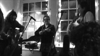 Feral Mouth bluegrass jam with Sara Watkins at the Ten Bells, Norwich
