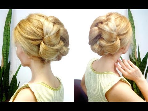 quick-and-easy-hairstyle-elegant-bun-|-awesome-hairstyles-✔