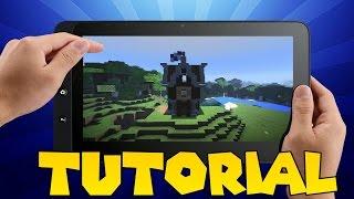 Minecraft Pe : tutorial de uma pequena casa medieval YouTube
