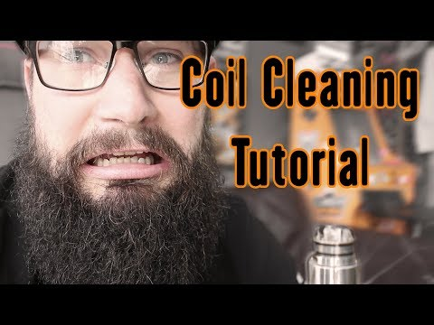 How to Clean and Maintain your RDA Coils, A quick tutorial
