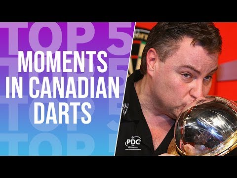 TOP 5 | Moments In Canadian Darts