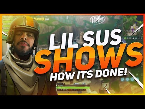 TSM Hamlinz - LIL SUS SHOWS OFF FOR RANDOM TEAMMATE! (Fortnite BR Full Game)