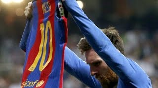 messi goal vs real madrid with the titanic song epic moment