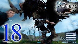 Final Fantasy XV Windows Edition│Parte 18│Batalla contra El Engendro de las Profundidades