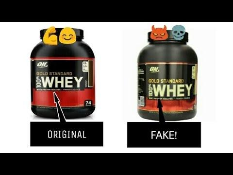 Identify Fake Protein On Gold Standard Whey Protein Authentication Checks Youtube