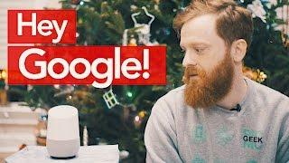 Это будущее! Обзор Google Home. 🤖