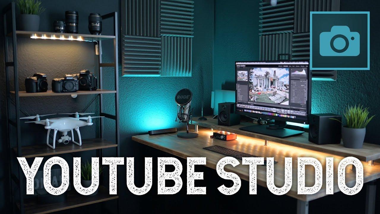 MEIN NEUES YOUTUBE STUDIO   BÜRO BAUEN   Office Desktop Setup DIY