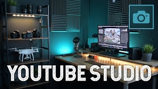 MEIN NEUES YOUTUBE STUDIO - BÜRO BAUEN - Office Desktop Setup DIY