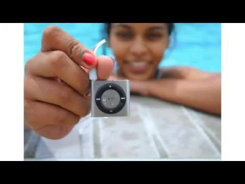 MP3 MP4 Player | 100% WATERPROOF Apple iPod shuffle - Best for swimming MP3 Player