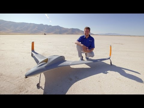 Watch World's First Jet-Powered, 3D Printed UAV Top 150 Mph!