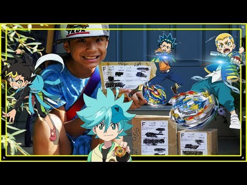 IT'S MAIL TIME! BEYBLADE BURST SURPRISE MYSTERY UNBOXING TAKARA TOMY