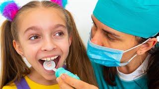 Canção infantil sobre o Dentista   Hábitos Saudáveis Músicas Infantis by Sunny Kids Songs