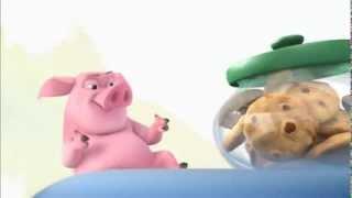 這隻豬太好笑了~