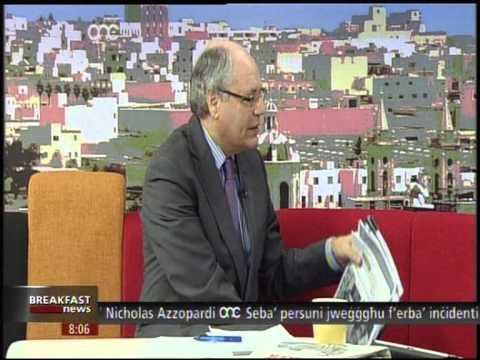 Prof. Edward Scicluna on Breakfast News