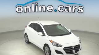 G12287TR Used 2017 Hyundai Elantra White Test Drive, Review, For Sale