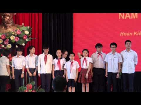 Lễ tuyên dương khen thưởng Học sinh giỏi Quận Hoàn Kiếm 2013-2014