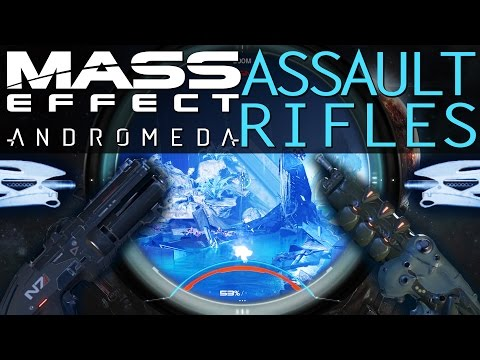 BEST ASSAULT RIFLES WITH AUGMENTS & MODS IN MASS EFFECT ANDROMEDA