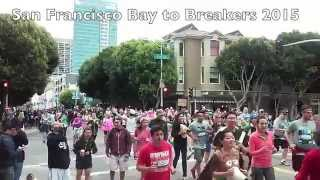 San Francisco Bay To Breakers 2015 naughty & fun run 60,000 costumes and outfits