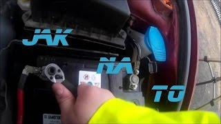 Montáž autobaterie Škoda Fabia 1