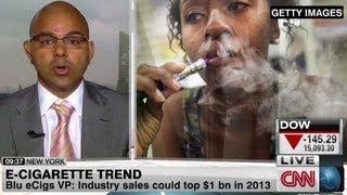 e cigarette trend growing