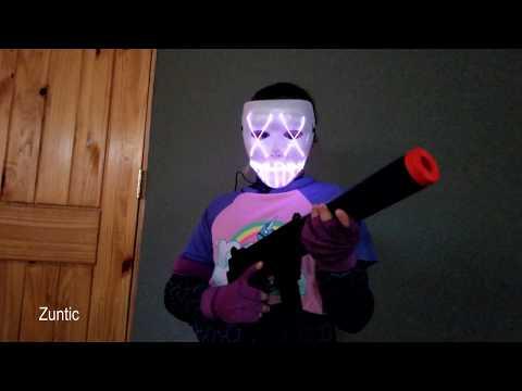 Fortnite & Purge Halloween Costume - Brite Bomber Skin - Spirit Halloween