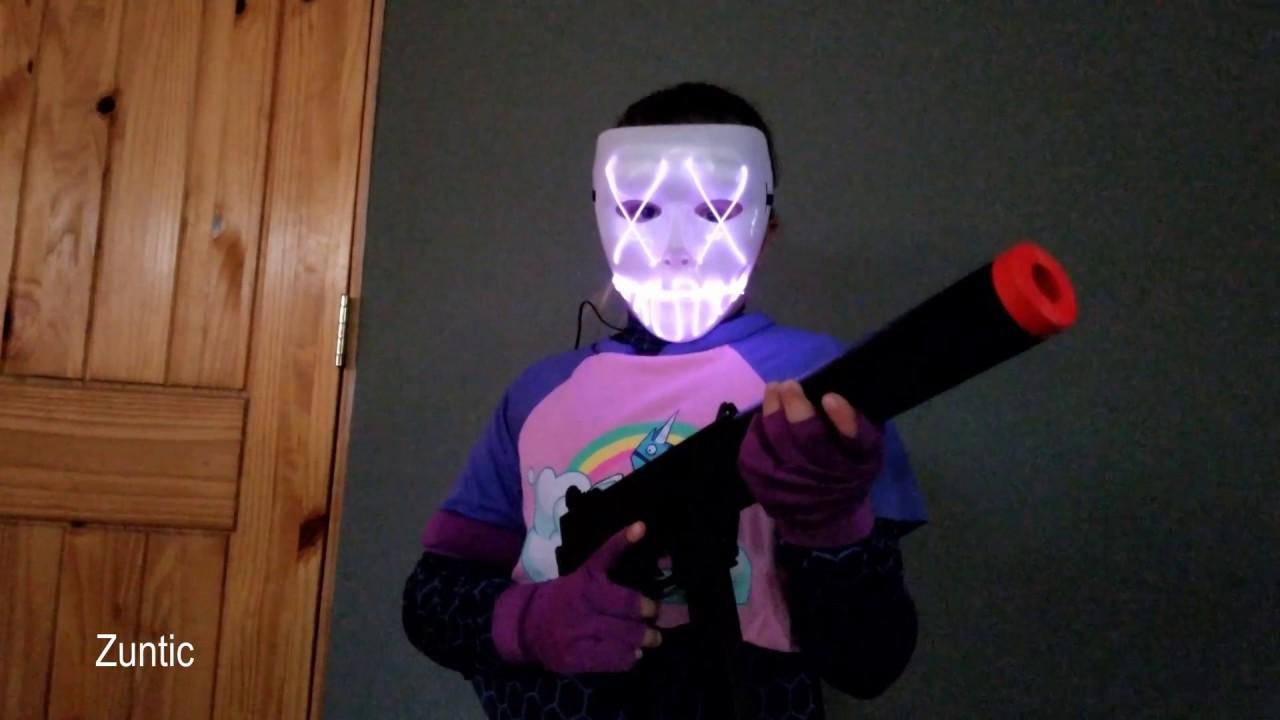 Spirit Halloween Fortnite Costumes.Fortnite Purge Halloween Costume Brite Bomber Skin Spirit Halloween