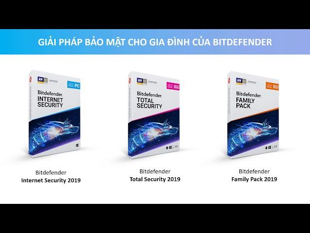 Hướng dẫn tải và cài đặt Bitdefender Internet Security 2019 miễn phí 30 ngày