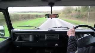 Land Rover Defender 110 CSW test drive