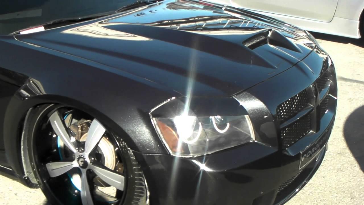 Dubsandtires Com Dodge Magnum On 24 Forgiato Brushed