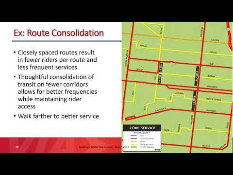 VIA Building a Better Bus System - March 2018 Presentation