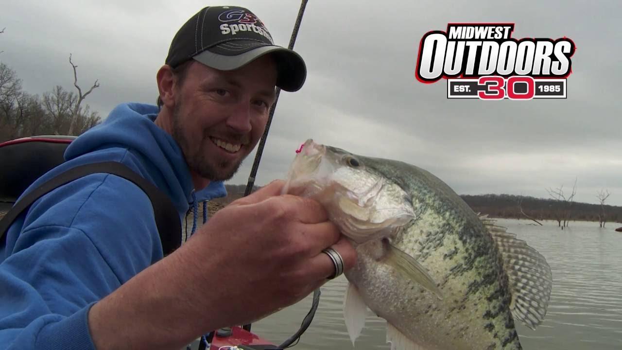 Midwest outdoors tv show 1585 truman lake in missouri for Truman lake fishing report