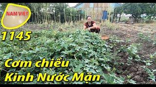 Bữa cơm quen thuộc nhất xứ Cù Lao Kinh Nước Mặn - Nam Việt 1145