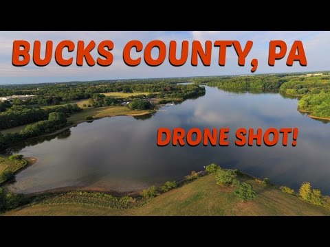 BUCKS COUNTY, PA DRONE SHOT!