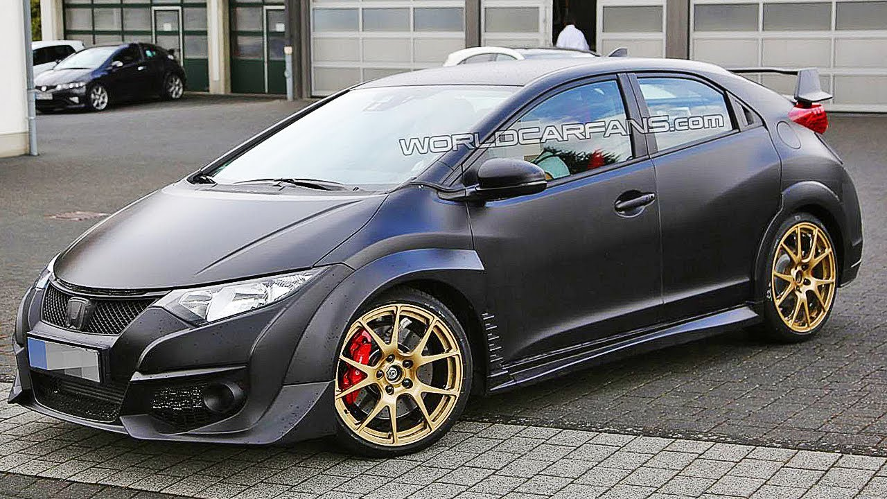 honda civic type r 2015 spy photo youtube. Black Bedroom Furniture Sets. Home Design Ideas