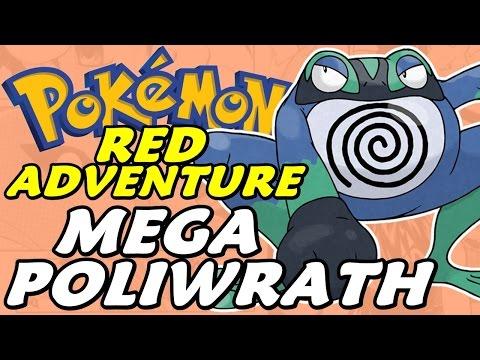 Pokémon Adventure Red Chapter (Detonado - Parte 36) - O Mega Poliwrath