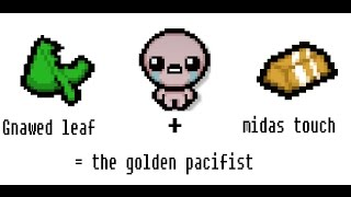 Binding of Isaac rebirth gnawed leaf + midas touch