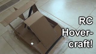 homemade rc hovercraft that actually works