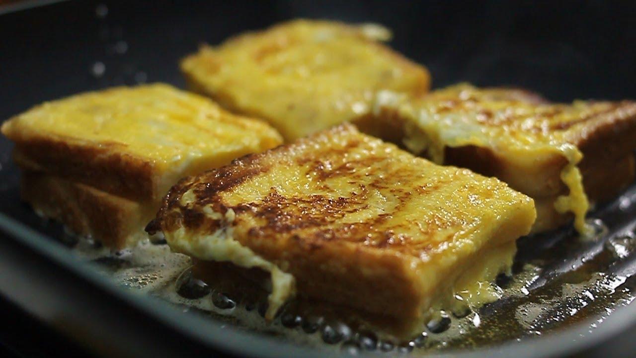 Resep Cheese French Toast Cocok Buat Sarapan Pagi Youtube