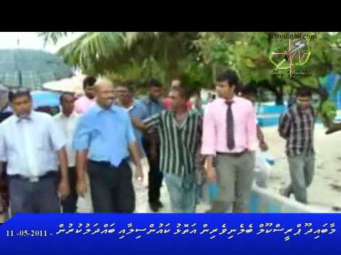 Maabaidhoo PS Parents Meets Atoll Council and President