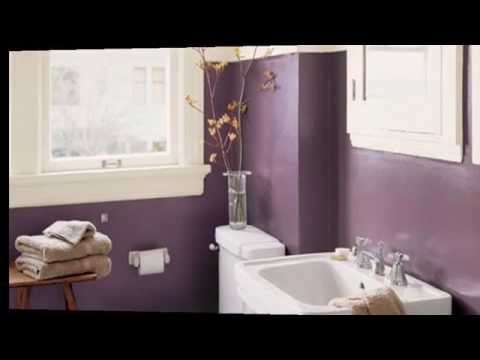 Luxury Purple Bathroom - [Luxury Interior Design]