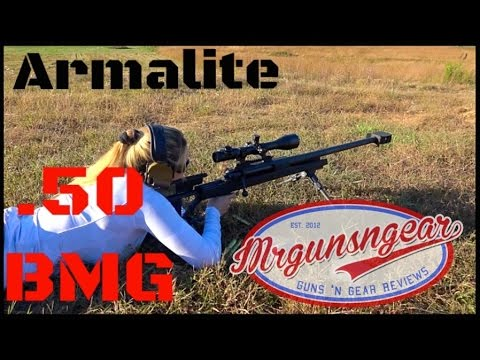 Armalite AR-50 .50 BMG Rifle Review (HD)