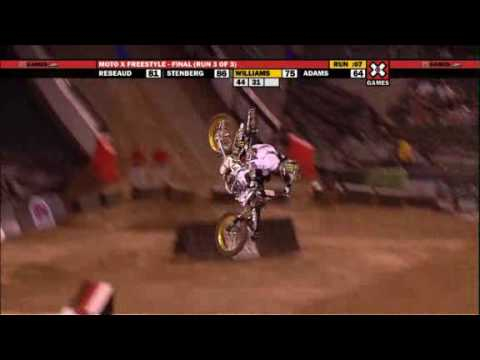 X Games 15 Moto X freestyle Blake Williams gold