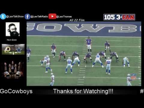 Dallas Cowboys VS Ravens all 22 Study Film ((Beta Test))