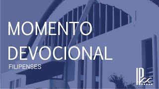 Devocional - Filipenses #1 - Rev. Rodrigo Buarque