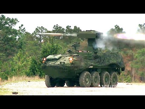 USMC LAV-AT (Anti-Tank) Light Armored Vehicle: TOW Missile Live-fire