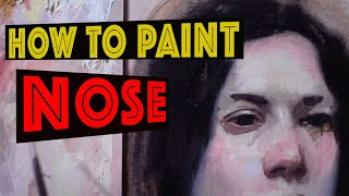 #4 Part How to paint the nose by Gianluca Rotelli