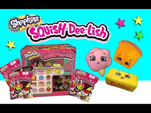 Squish Delish Full Box : Vote No on : rise Toys Opening